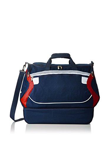 Legea Pantacourt unisexe pour adulte Bleu 30 x 50 x 46 cm - Bleu - Bleu marine/rouge, 30 x 50 x 46 cm