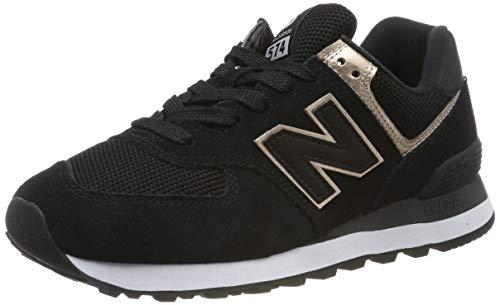 New Balance Damen 574v2 Sneaker, Schwarz, 38 EU