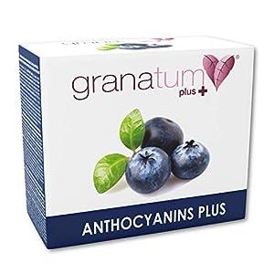 Granatum Plus   Zumo de Arándano Concentrado (65 °Bx)   Extracto de Arándano   Antocianinas Plus   Complemento alimenticio   (30 sobres bebibles monodosis de 20 gr. Peso Neto 600 gr.)