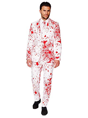 OppoSuits OSUI-0036-EU56 - Bloody Harry - disfraz de Halloween, traje de la sangre, tamao 56, multicolor , color/modelo surtido