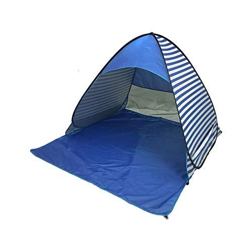Camping Ultraligero portátil al Aire Libre Carpa automática instantánea Pop up Camping Tienda de campaña Viaje de Playa Tienda de Playa Anti UV Shelter Pesca Senderismo Picnic Tienda Tipi