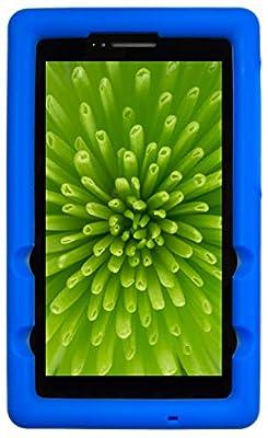 BobjGear Bobj Rugged Tablet Case for Lenovo Tab E7 (TB-7104F) Kid Friendly (Batfish Blue)