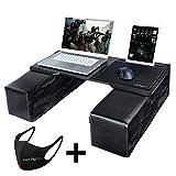 Couchmaster CYBOT (Ergonomisches Lapdesk für Notebooks oder Wireless Peripherie, inkl. Kissen, geeignet für Couch/Bett)