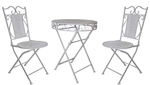 La Grande Prairie Ensemble 2 Chaises + Table