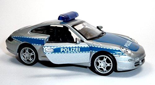 Porsche 911 Carrera S (997) Polizei Polizeiauto Modellauto Welly 12181