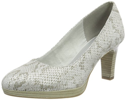 Tamaris Damen 22410 Pumps, grau, 37 EU