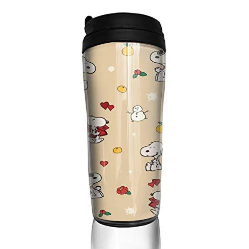 Snoopy Kaffeebecher Travel Mug Thermobecher Isolierbecher Doppelwandig Isolierung Kaffeetasse