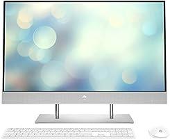 "HP All-in-One 27-dp0067ns Ordenador de sobremesa de 27"" FullHD ( AMD Ryzen 5 4500U, 16GB de RAM, 512GB SSD, sin sistema..."