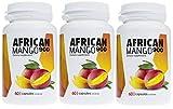 ✅AFRICAN MANGO Premium, cura para adelgazar, 3 paquetes, 3x900 mg de dosis alta de extracto de mango, quema grasa enorme, ideal quemador de grasa, supresor del apetito, produce saciedad, 120 capsulas