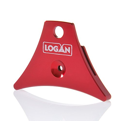 Logan Whistles A1 - Cordón de Vela, diseño de Perro de Oveja, Color Rojo
