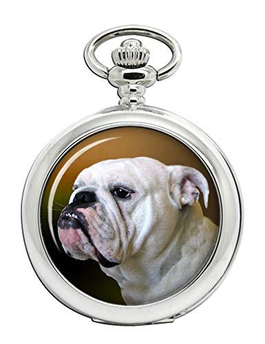 Englische Bulldogge Full Hunter Taschenuhr
