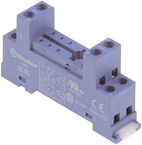FINDER 95.65 Relais-Sockel für Spülmaschine Electrolux 531231, 531041, 531232, 531132, 531131 8-polig 250V 10A