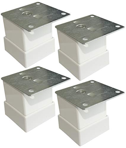 AERZETIX: 4x Patas pies regulables nivelador ajustable para