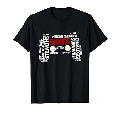 Gaming Nerd PC Gamer Regalo Consola Geek Camiseta