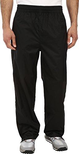 adidas Golf Men's Climastorm Essential Packable Rain Pants, Black, X-Large