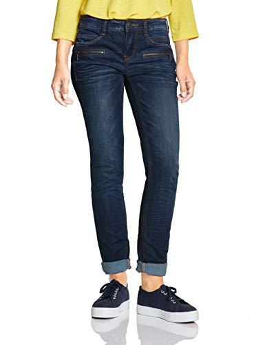 Street One Damen 372464 Jane Casual Fit Slim Jeans, Blau (Natural Blue Stone wash 11991), 38 /L30 (Herstellergröße:29)