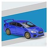 Kit Juguetes Coches Metal Resistente para Subaru Impreza WRX STI 1:36 Simulación De Aleación De Fundición A Presión Modelo De Coche para Niños Regalo Maravilloso Regalo