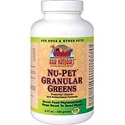 Nu-Pet Granular Greens 240 Grams ( Powerful Vitamin & Antioxidants Formula ) - Ark Naturals