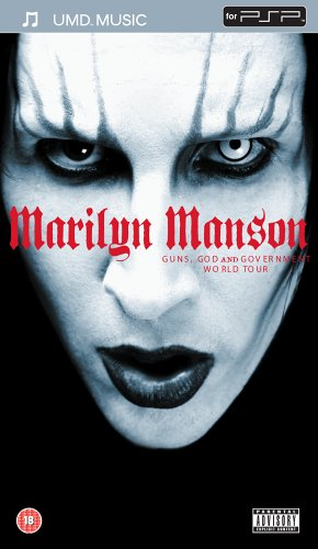 Marilyn Manson - Guns, God and Government World [UMD Universal Media Disc]