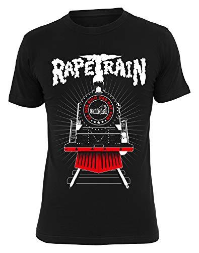 Trailerpark T-Shirt Rapetrain, Farbe:schwarz, Größe:M