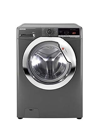 Hoover DXOA 48C3R Freestanding Dynamic Next Washing Machine, 8kg Load, 1400rpm, Graphite