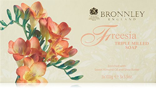 Bronnley Freesia Triple Milled Fine English Soap 100g