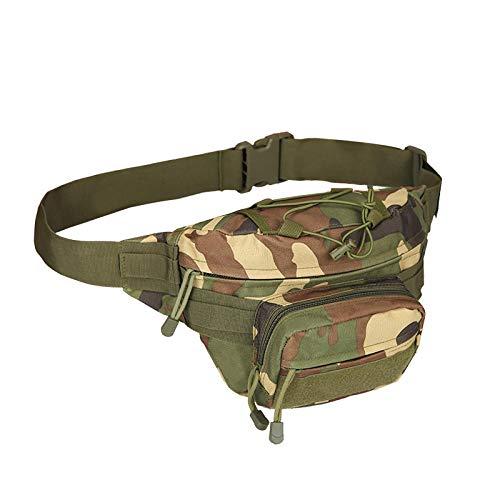 YSNBB Messenger Bag, schoudertas, laptoptas voor laptop, schoudertas boodschappentas lopen buiten fietstas (17 * 15 * 19 cm) legergroen