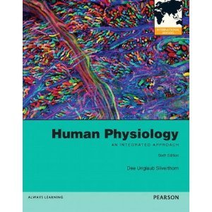 Human Physiology: An Integrated Approach 6 Edition By Silverthorn 6th (Int'l Edition+cd)