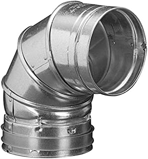 Duravent 4GVL90 4-Inch Adjustable 90 Degree Type B Gas Vent Elbow