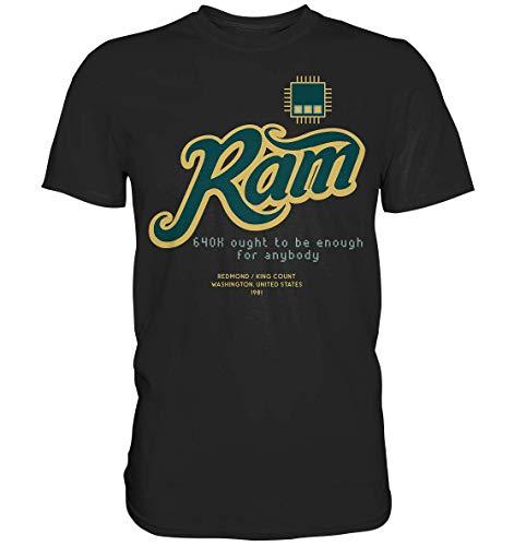 GREG PINE Mehr als 640 Kilobyte Speicher Werden Sie Niemals benötigen, 640k Ought to be Enough for Anybody Motiv T-Shirt