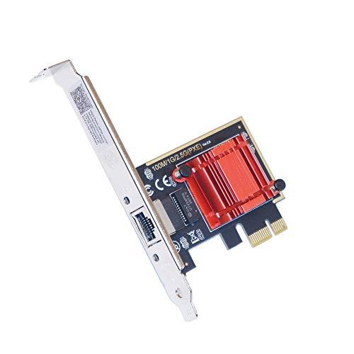 Multi Gigabit Network adapter RJ45 PCIe Lan Card ヒートシンク付 安定動作 (2.5 GigaBit rev.B)