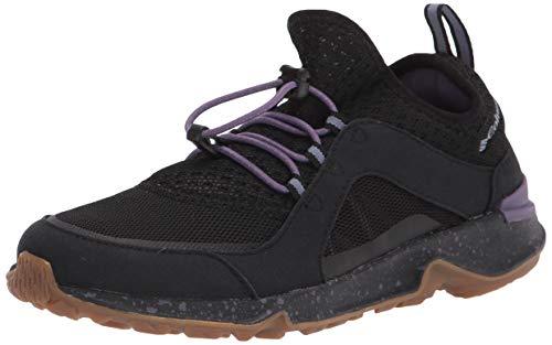 Columbia womens Vitesse Slip Boat Shoe, Black/Plum Purple, 8 US