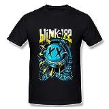 ZhanGYG322 Comfort Blink 182 EU Deck T Shirts for Men Black