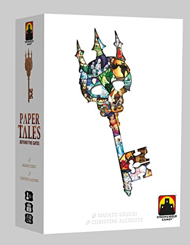Stronghold Games stg07130Paper Tales Beyond The Gates Expansion, Multicolor