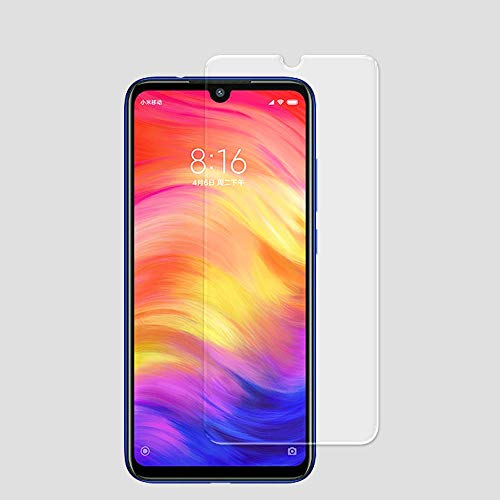 MoPro Screen Protector Flexible Glass Guard for Xiaomi Redmi Note 7 (Flexible Tempered Glass. Shatter & Scratch Resistant, HD Clarity, Case Friendly)