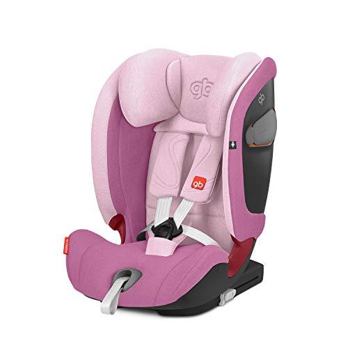 GB Gold Everna-Fix - Silla de coche para coches con ISOFIX, Grupo 1/2/3 (9-36 kg, de 9 meses a 12 años aprox.) Sweet Pink
