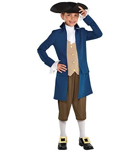 Amscan 8401783 Paul Revere Colonial Costume Set - Medium Size