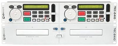 QTX TEC-2410 Dual DJ CD Player CD-R CD-RW White