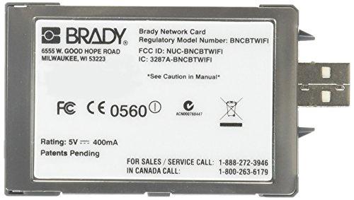 Brady NET-BT-WiFi-LAN Assy,Card,WiFi,Bt,LAN,Packaged,Wir