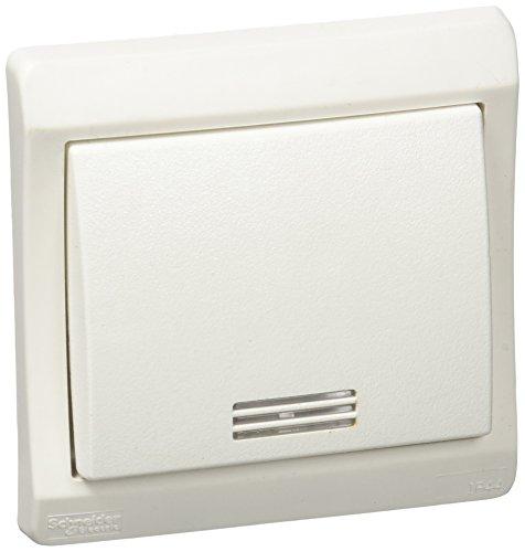 Schneider Electric enn39128 knop symbool afzuigkap met licht IP44, wit