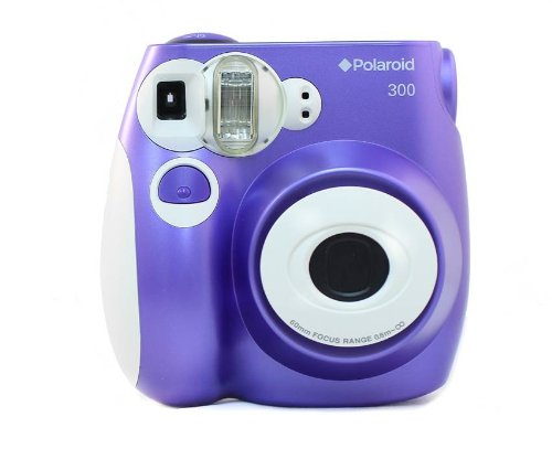 Polaroid PIC-300 Instant Film Camera (Purple)
