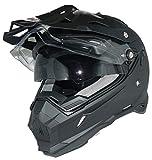 Protectwear THH-TX28 Enduro Casco Cruzado Solar, Visera y Escudo THH-TX28-XL, Unisex-Adult, Negro, x_Large