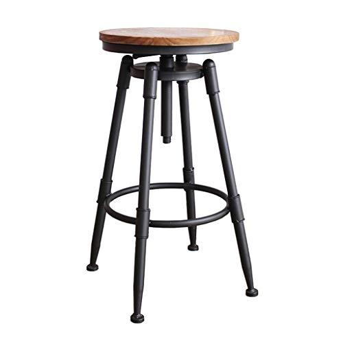 Furniture Stool/barkruk, antiek, rond, industrieel, in hoogte verstelbaar, koffie, retro, vintage, elegant, waterpijp, design Pub, keuken, barkruk
