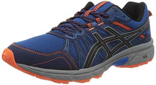 ASICS Mens Gel-Venture 7 Running Shoe, Electric Blue/Sheet Rock,45 EU