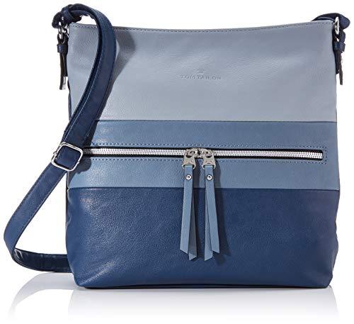 TOM TAILOR Schultertasche Damen Ellen, Blau(mixed), one size, Handtasche, Tasche Damen