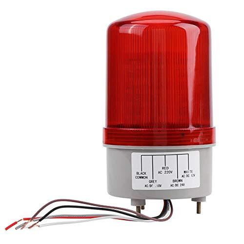 JULYKAI 3W hochwertige LED-Warnleuchten Warnleuchte, rot für LKW-Baustelle Verwendung Werkstatt Verwendung Auto