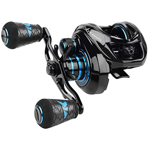 KastKing Crixus ArmorX Baitcasting Reels,Right Handed Fishing Reel