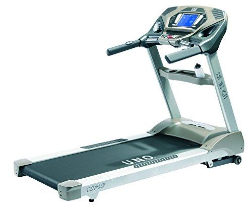 U.N.O. Fitness Erwachsene TR 4.0 Laufband, Silbergrau, S