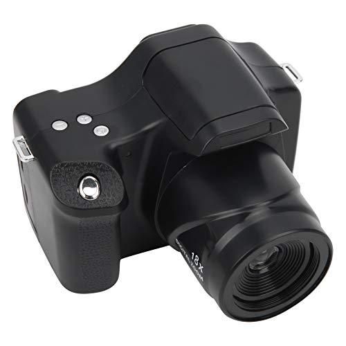 一眼レフカメラ、3.0インチ液晶画面、18倍ズーム、デジタルカメラ、長焦点距離HD、初心者向けカメラ一眼レフフィルムカメラ(Standard Edition)