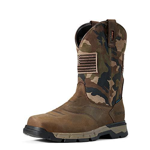 ARIAT Rebar Flex Western Patriot H2O Brown/Camo 13